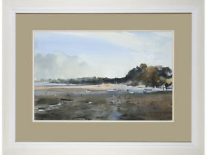 River-Orwell-Suffolk-Jeff-Harpham-original-watercolour-signed-painting
