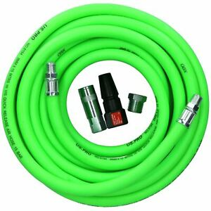 HGV Red Line 15m Air Hose 1//4 BSP Thread Recoil Airline Truck Lorry PCL Fitting