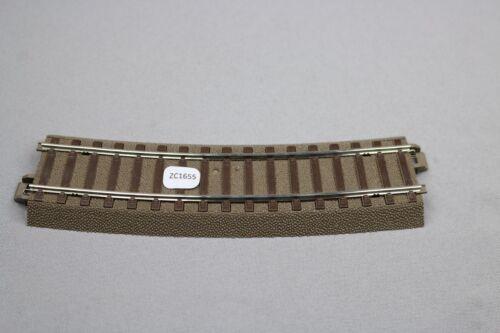 ZC1655 Trix Ho 1/87 train 62315 gebogenes gleis rail courbe 15° R3 = 515mm