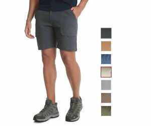 4973ae55c95c Details about NEW Men's Wrangler Hiker Cargo Stretch Shorts - 8