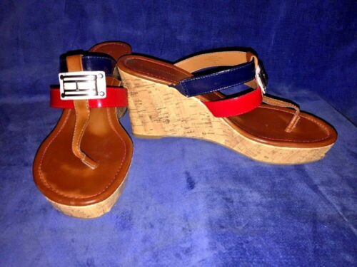 SALE @ TOMMY HILFIGER Mili Sandals Clogs Wedges H… - image 1