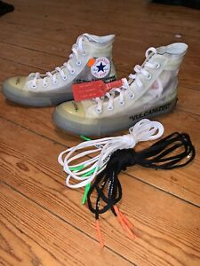 CONVERSE CHUCK TAYLOR 70 Off White HI Vulcanized TAILLE 37,5