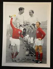 New Jack Charlton Signed England Montage