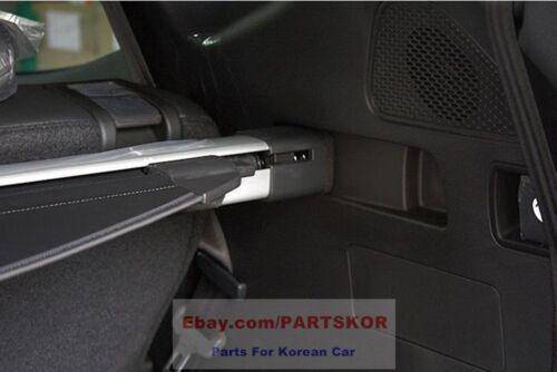 For HYUNDAI 2014 ~ Santa Fe DM Rear Trunk Cargo Screen Storage Genuine Part