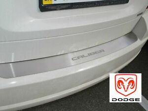 Rear-Bumper-Protector-Fit-DODGE-CALIBER-2006-11-Stainless-Steel-Scuff-Sill-Plate