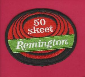Remington Trap 50 Straight Shooting patch