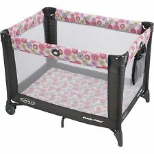 NEW Graco Pack 'n Play Playard On the Go with Folding Feet Livia *NO TAX*