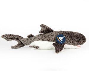 Stofftier-Tigerhai-Plueschtier-Kuscheltier-Pluesch-Laenge-ca-35-cm-Hai