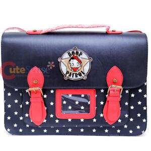 f414542b869b Image is loading Betty-Boop-Messenger-Bag-Briefcase-Satchel-Body-Cross-