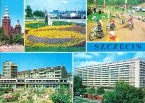 AK, Szczecin, Stettin, pięć ilustracje, fünf Abb., um 1977
