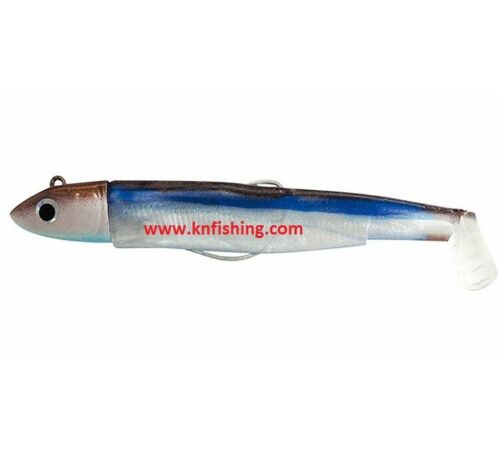 FIIISH /'/'BLACK MINNOW 90-No.2/'/' Silicone Lures Spinning Lrf Freshwater Fishing