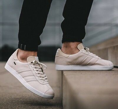 new arrival 19bb4 aad93 NIB Adidas Consortium x Saint Alfred Gazelle GTX Sneakers Ivory Off White  BB0894