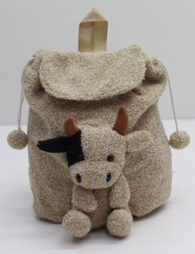 Choice Of Cow Or Sheep New Gorgeous Farmyard Animal Rucksack Backpack  Bag