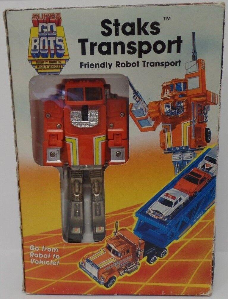 Entrega rápida y envío gratis en todos los pedidos. Staks Staks Staks transporte súper Go Bots Tonka 7244 121818 DBT3  alto descuento