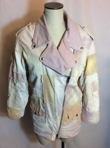 Isabel-Marant-Olaz-Patchwork-Denim-Jacket-Size-36-FR-or-6-US-GUC-Small-Spots