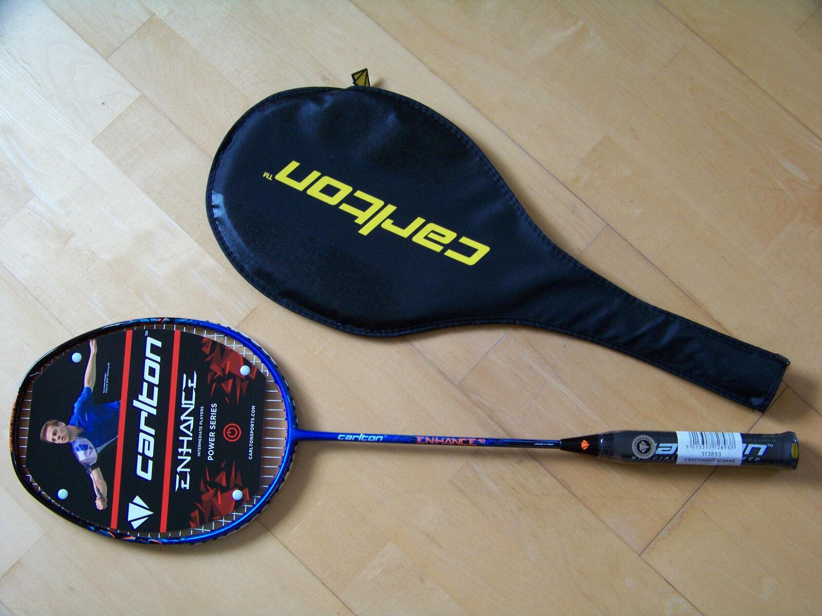 Badmintonschläger Carlton Enhance 90, NEU, NEU, 90, 422069