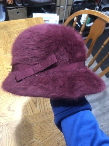 "KANGOL Furgora Vida Bucket Hat W/Bow 21"" Inside Ha"