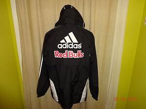 RB Leipzig Adidas Junioren Spieler Wind- Regenjacke 2010/11 + Nr.15 U12  Gr.S- M