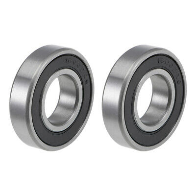 sourcing map S629-2RS Stainless Steel Ball Bearing 9x26x8mm Double Sealed 629RS Bearings 1-Pack