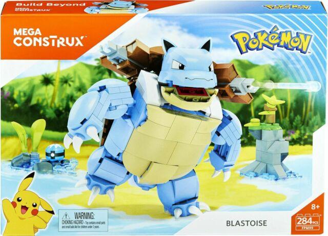 MEGA CONSTRUX Build Beyond Pokemon BLASTOISE FPM99 - Brand NEW!