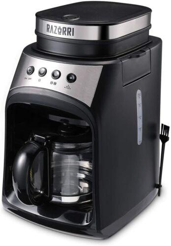 Razorri Elektrisch Kaffeevollautomat Kaffeemaschine mit Filter-System,Glaskanne
