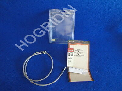 """4/"""" Stainless Braided Brake Line 2000-2005 Harley Dyna Super Glide Front"""