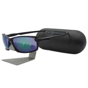 Oakley-OO-9302-07-CARBON-SHIFT-Black-with-Jade-Iridium-Mens-Sunglasses