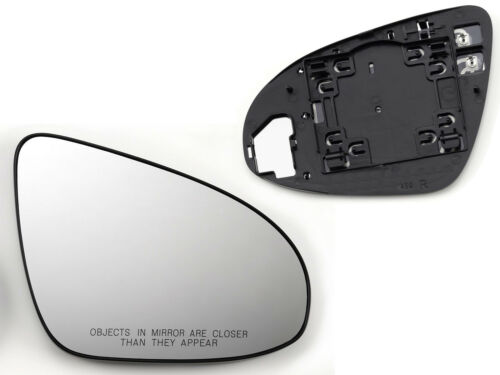 For 2012-2017 Camry 2013-2018 Avalon Mirror Glass Heated W//Base Passenger Right