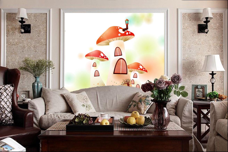 3D Super Süß Pilze 975 Tapete Wandgemälde Tapete Tapeten Bild Familie DE Summer