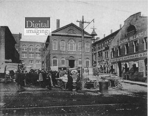 1800s-Photo-Reprint-Old-Town-Hall-and-Market-House-Salem-MA
