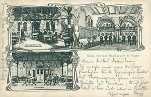 Ansichtskarte Saalhäusern b. Kösen 1904 Weinstube Saalhaus - Eggenstein-Leopoldshafen, Deutschland - Ansichtskarte Saalhäusern b. Kösen 1904 Weinstube Saalhaus - Eggenstein-Leopoldshafen, Deutschland
