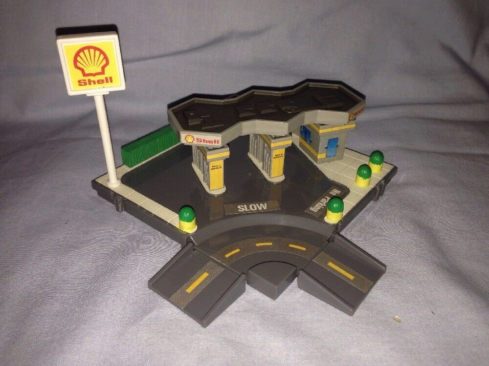 Mikromaskiner, Galoob, gathörn, Shell Gas Station