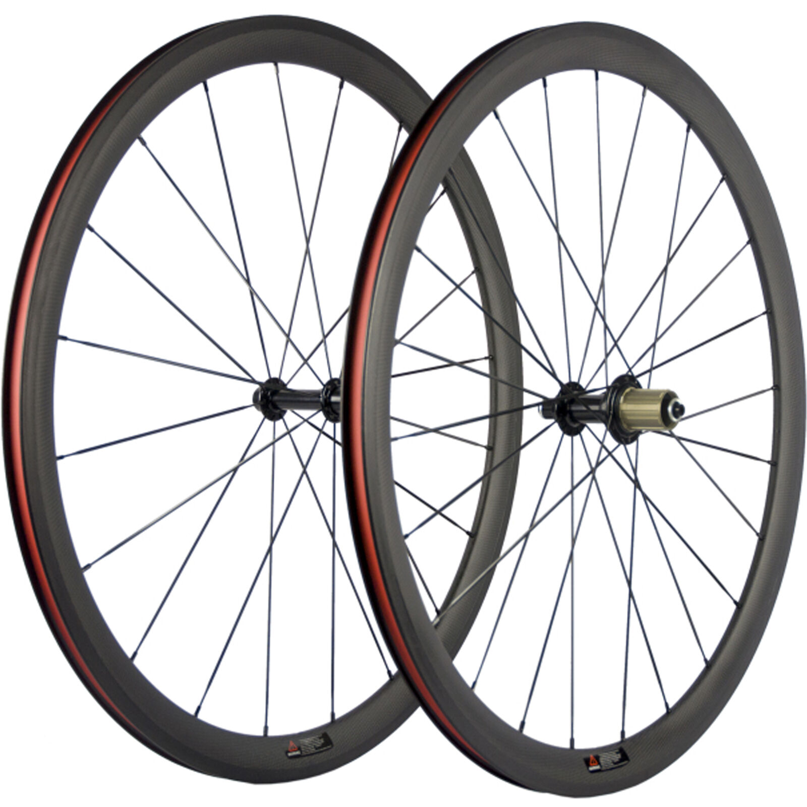 700C 38mm Clincher carbon bike wheels Rim Brake carbon road wheelset