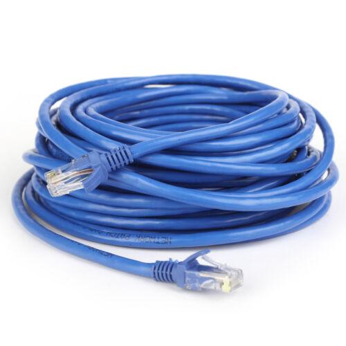 CAT6 SFTP Shielded Network LAN Patch Cable Cord RJ45 8P8C Ethernet Blue lot
