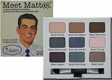 Thebalm Meet Matt(e) Eyeshadow The Balm Palette Matte 9 Shadow Colors