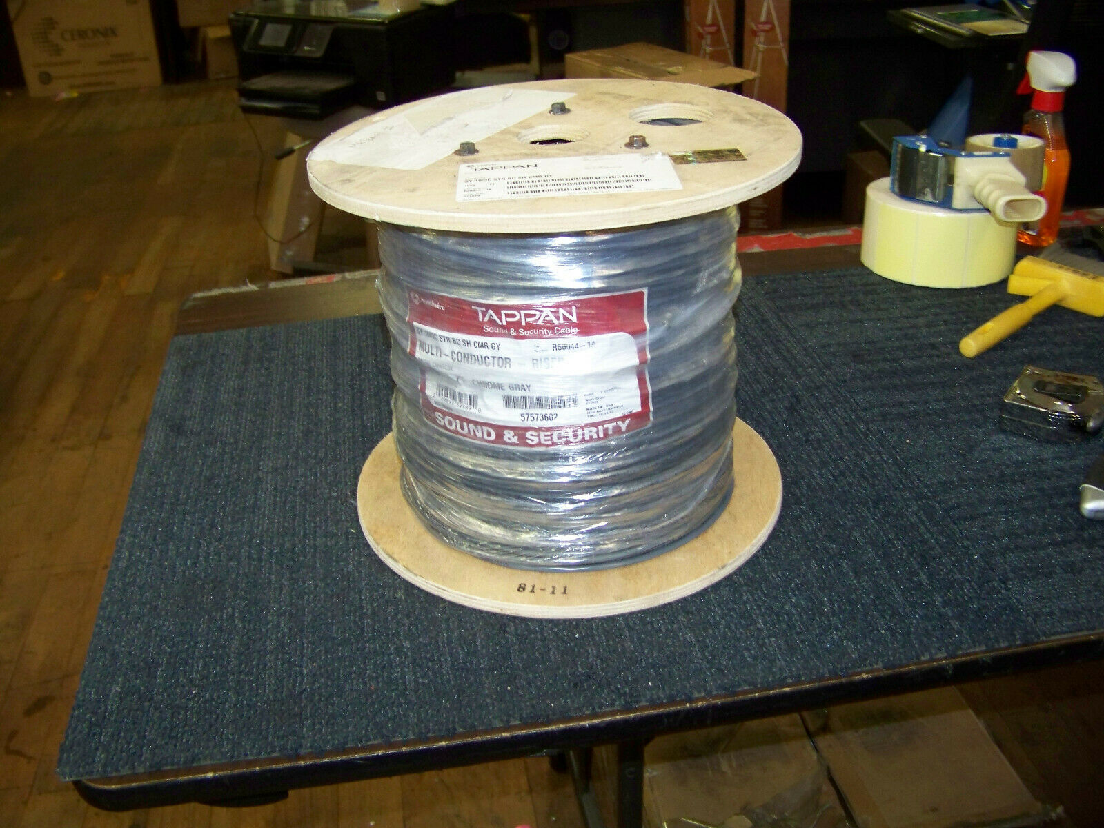 Southwire Tappan Sound & Security Cable SY 16 3C 1000 Ft. R50044-1A New