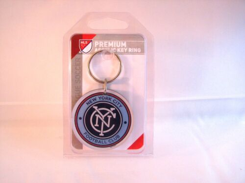 New York City FC Premium Acrylic Key Ring