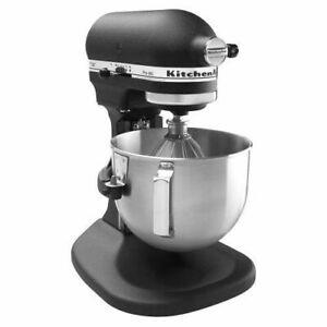 Details about KitchenAid RKP26M1Xbk Pro 600 Stand Mixer 6 qt Imperial Black  Big Large Capacity