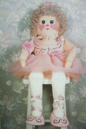 Rag Doll Ballerina Toy Sewing Pattern RG04