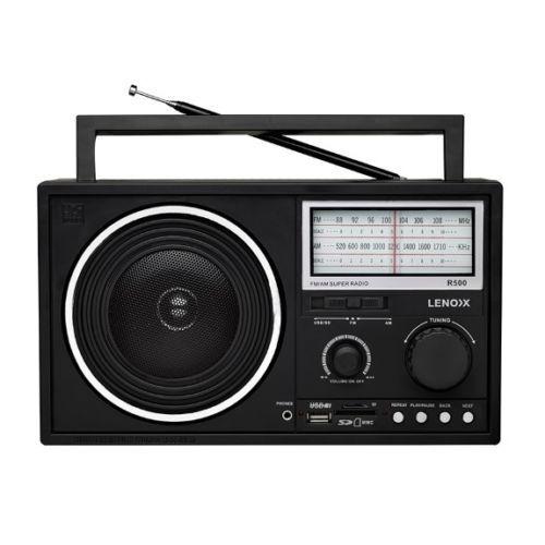 1 of 1 - Lenoxx R500  AM/FM Super Radio