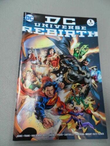 Dc Universe Rebirth 1 Ethan Van Sciver 4th Print Variant Cover 2016 For Sale Online Ebay