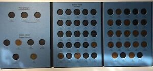 1857-1909-Flying-Eagle-Indian-Head-Cent-Album-21-Coins-in-Whitman-Book-WC31
