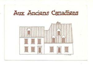 AUX-ANCIENS-CANADIENS-RESTAURANT-QUEBEC-CITY-QUEBEC-CANADA-CHROME-POSTCARD