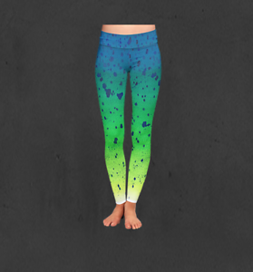 Ladies Original Mahi Print Performance Leggings
