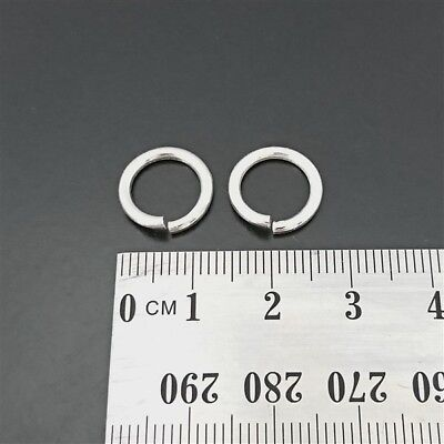 Lot of 2-5mm x 0.8mm JumpRings Sterling Silver 925 Open Jump Rings