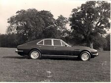 Aston Martin V8 Lagonda c 1974 Original UK Market Press Photograph Side View