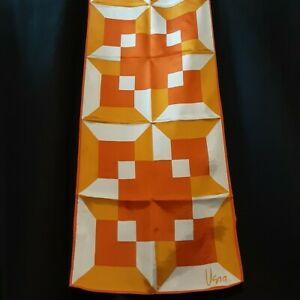 Neon-1970-039-s-Geometric-Vera-Neumann-Rectangle-Scarf-45-x-14