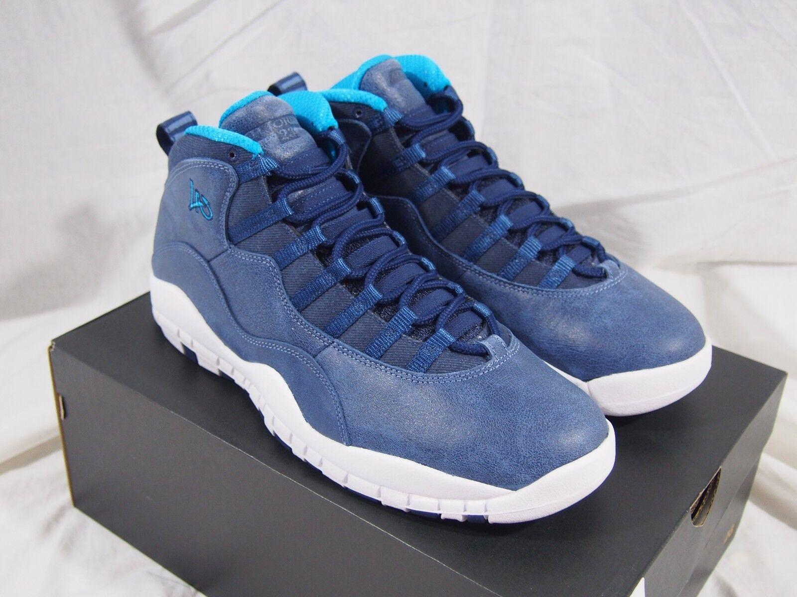Nike Air Jordan 10 Los Angeles City Pack Ocean Fog