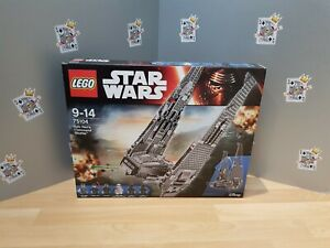 Star Wars NEW LEGO SET Kylo Ren/'s Command Shuttle 75104