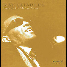 Blues Is My Middle Name [St. Clair] by Ray Charles (CD, Jun-2005, Pazzazz)
